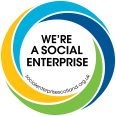 We're a Social Enterprise logo