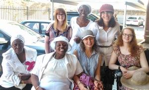 Group photo at Mah's Church